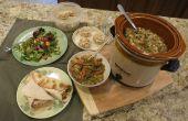 Ayudantes de preparación de comida - sopa, bocadillos, salteados, ensaladas y más