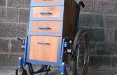 Estación de trabajo de silla de ruedas