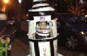 HOMBRE del cohete: Disfraces de Halloween Saturno 5 cohete