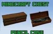 Caja de lápiz de pecho de Minecraft
