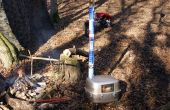 Tent wood stove classic KP