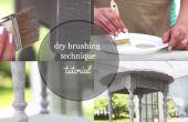 Cómo secar cepillo muebles