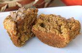 Calabaza manzana Streudel Muffins