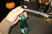 Evitar bebidas carbonatadas abiertas de plano