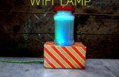 Lámpara de Wi-Fi (el cambio de brillo y colores)