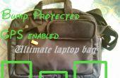 La creación de su propia bolsa de ordenador portátil de protección bump.