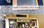 Cómo hacer una ventana en un marco de imagen!