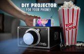Como hacer un proyector para su teléfono por $2