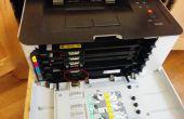 Reset de impresora Laser bricolaje unidad de tambor de imagen Samsung CLP-365w