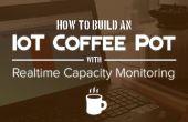 Monitor de pote de café IoT