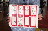 Diseño de aplicaciones móviles con esta pizarra prototipos