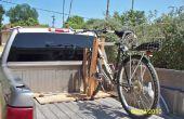 Cómo hacer un estante de bicicleta, frugalmente