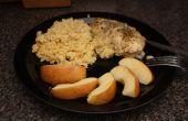 Montreal pechuga de pollo al horno con cuscús