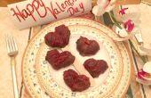 Como Ramos de flores y frutas hacer día de San Valentín de Chocolate cubierto de corazones de caramelo de fresa