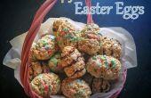 Arroz huevos de Pascua de tratar de Krispy