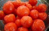 Cómo a los tomates de piel