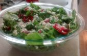 Ensalada de espinacas fresa