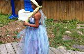 Vestido y peluca de Reina Elsa