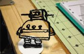 FreeHand 3D Robot Instructable