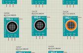 Cómo agregar biblioteca de Sensor de Gas de Arduino en a Proteus 7 & 8