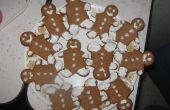 Galletas de pan jengibre caramelo