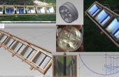 Calentador de agua solar aún