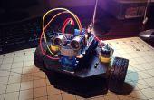Simple robot de avoider objeto usar chasis Actobotics Runt Rover Peewee y un Arduino