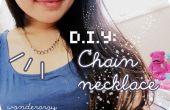 Bricolaje: Collar de cadena