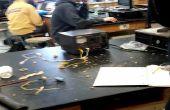 Experimento de acelerador electromagnético + fundición de aluminio
