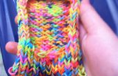 Caja del teléfono de telar del arco iris