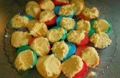 Huevos de Deviled teñido de Rainbow