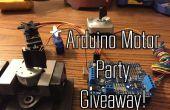 Partido de Arduino Motor