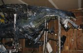 Estatua a tamaño real la reina Alien de los extraterrestres