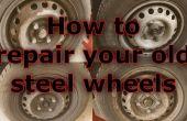 Renovar viejas ruedas de acero