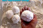 Material esponjoso - dos ingrediente plastilina