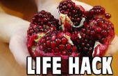 Hack de vida alimentos: Cómo pepas una Granada