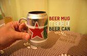 Jarra de cerveza de una cerveza puede