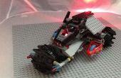 Como hacer un Lego lobo vehículo