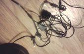 Cómo distinguir y encontrar fácilmente usb los dispositivos cables con abrazaderas de plástico