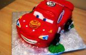 3D Rayo McQueen torta