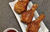 Pollo frito de mantequilla