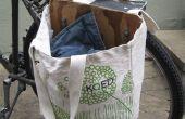 DIY bicicleta alforja (bolsa de sillín)