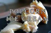 Cómo hacer helado de palomitas de maíz