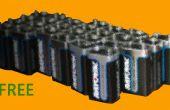 Cómo obtener gratis 9 voltios baterías (legalmente)