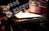 Inalámbrica más barata impresora 3D - Boltz Megatiete