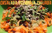 Ensalada Pelirroja Enojada - ensalada de zanahoria cruda
