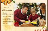 Cómo hacer una tarjeta electrónica de Navidad Flash