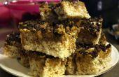 Achocolatados maní mantequilla arroz Krispies trata