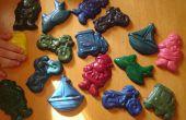 Cómo reciclarlos talones del creyón en un regalo hecho en casa se hinchan