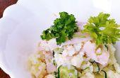 ¡ Una manera fácil de cocinar ensalada de papa sabrosa!